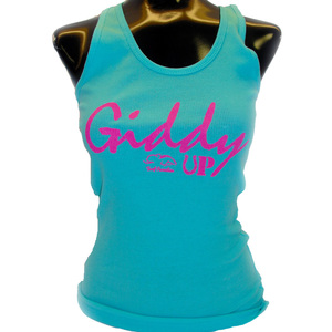 GIDDY UP LOGO TANK
